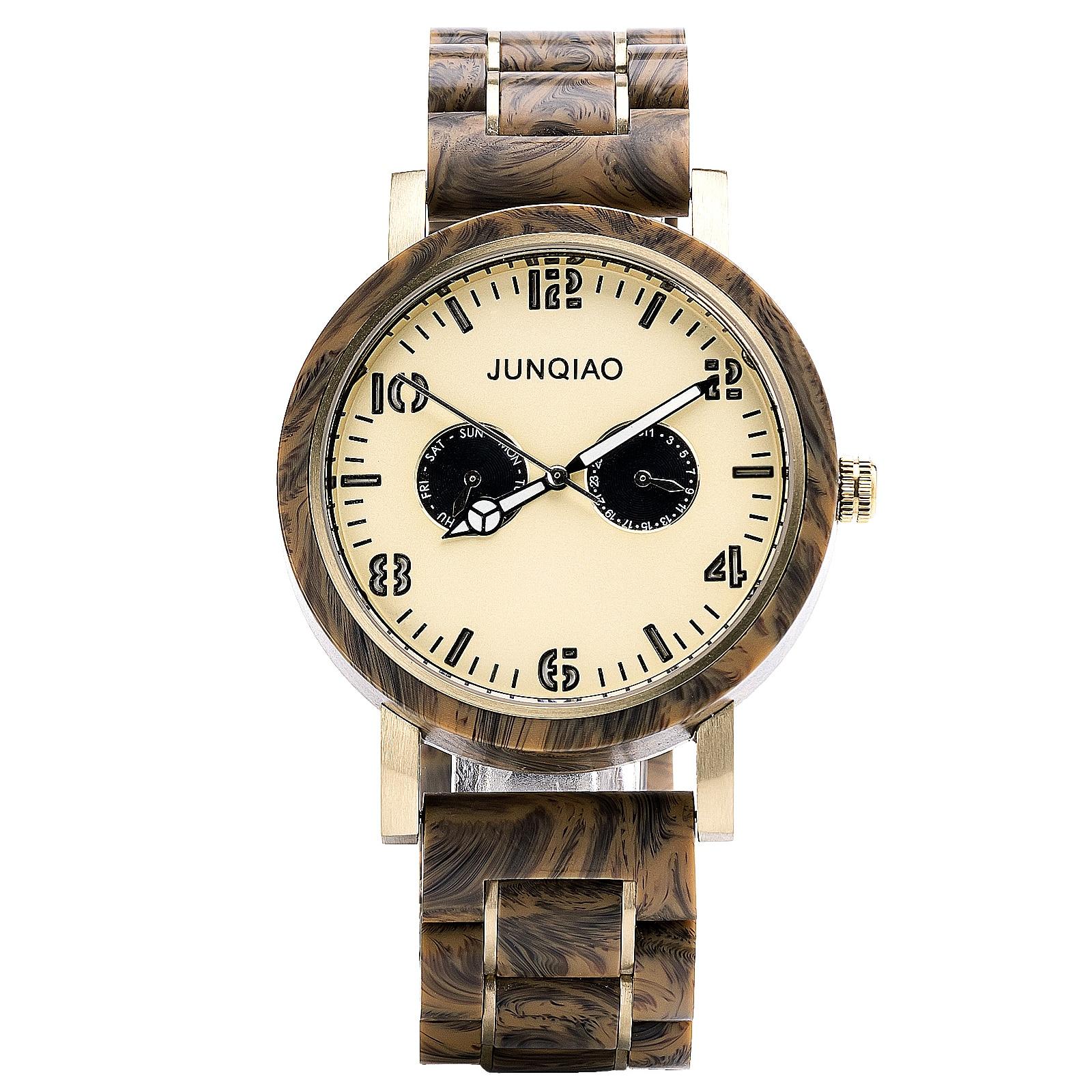 2020 watches men Casual Sport Top Brand Elegant wooden Luxury Military watch men Waterproof Resin Clock Relogio Masculino