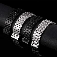 Bracelet de montre dacier inoxydable de 22mm pour Xiaomi Huaimi Amazfit GTR GTS montre bracelet de montre de luxe de 22mm pour le rythme de jeunesse de Bit de Bip damazfit