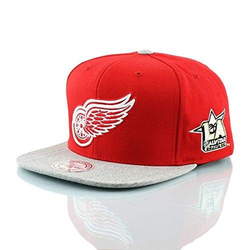 Mitchell & Ness NHL Detroit Red Wings 2017 AllStar Game casquette, casquettes de baseball, casquette pour hommes, casquette pour femmes, camionneur, chapeau