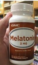 Frete grátis melatonina 3 mg suporta sono repousante 120 peças