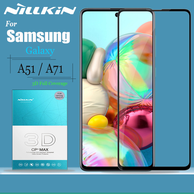 Glas Nillkin für Samsung Galaxy A51 A71 Glas Screen Protector 9H 3D Full Coverage Sicherheit Gehärtetem Glas für Samsung a51 A71
