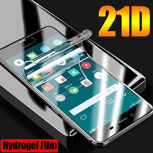 21D Front Silicone Hydrogel film For Oppo Realme X2 Pro XT Reno Z A5s A1k A9 A5 2020 3 5 6 Pro Full Cover Soft Screen Protector(China)