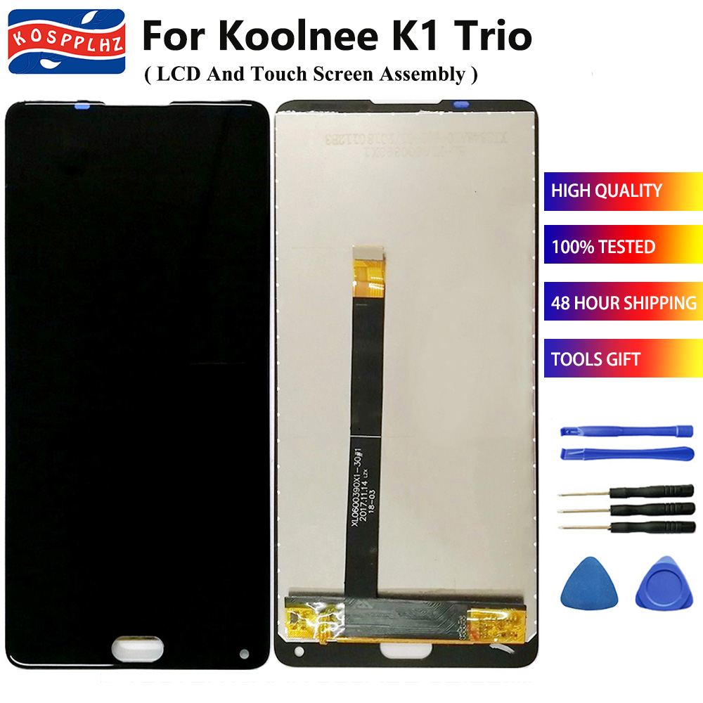 High Quality For Koolnee K1 Trio LCD Display + 1080x2160 Touch Screen Digitizer Assembly 6.01 inch Koolnee K1Trio Cell Phone(China)