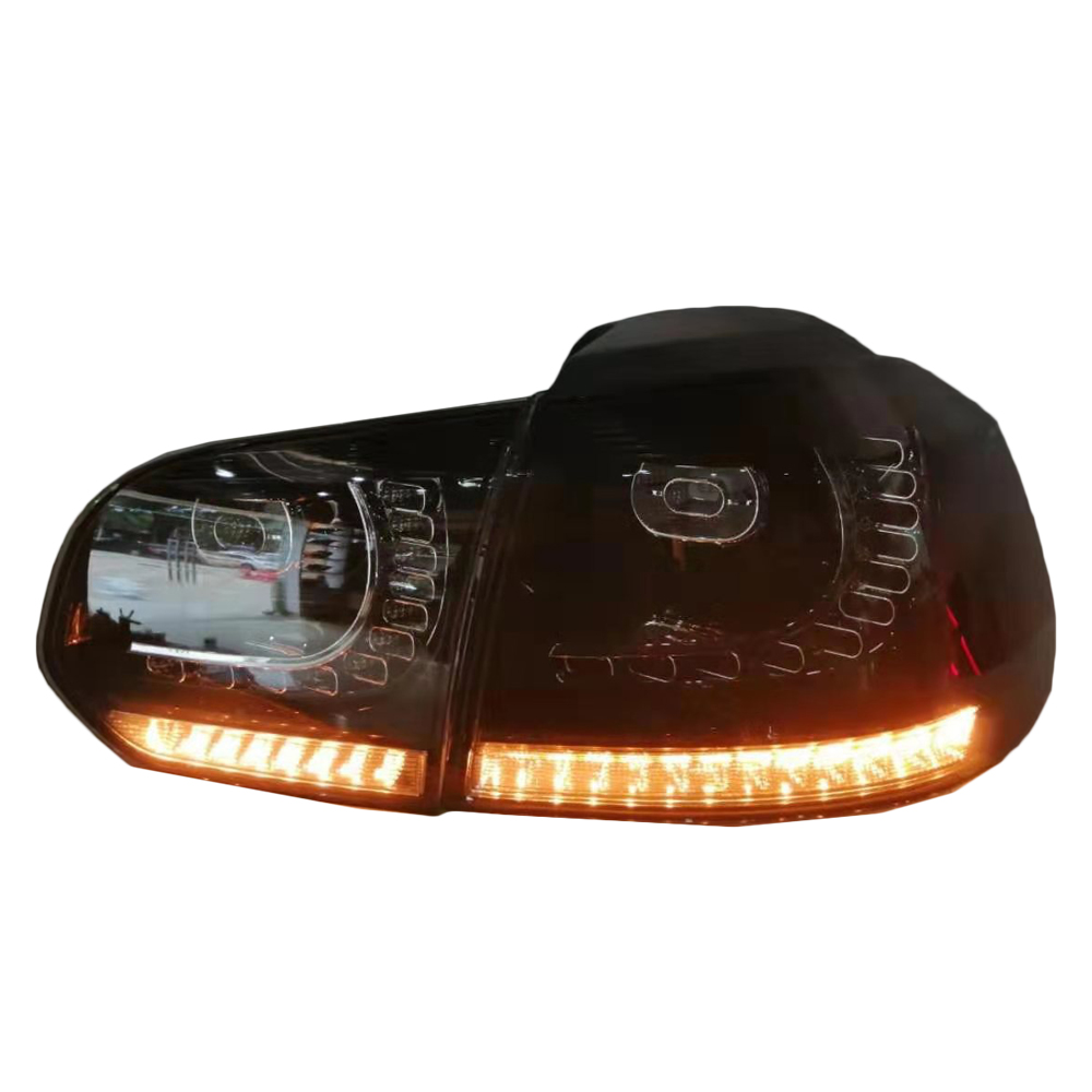 car tail light for vw golf 6 smoke (4)