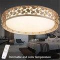 Современная спальня Искусство полый дизайн круг светодиодный потолочный светильник современный минималистичный для гостиницы  из акрила ...