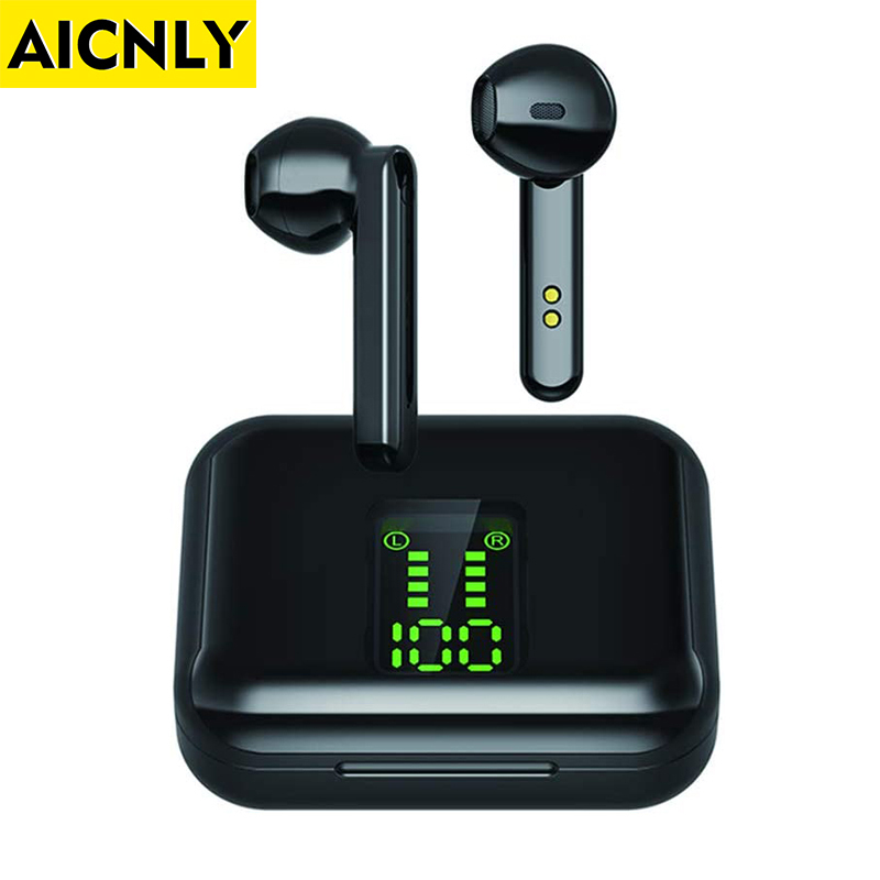 X15 TWS Bluetooth Earbuds Wireless Earphone LED Display Bluetooth 5 0 Sport Headset Earbuds Airbuds with Charging Case