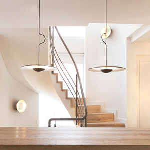 Image 4 - מפורסם מעצב אישיות יחידה creative מסעדת תליון מנורת פשוט נורדי סגנון קפה שולחן אוכל אופנה תליון אור