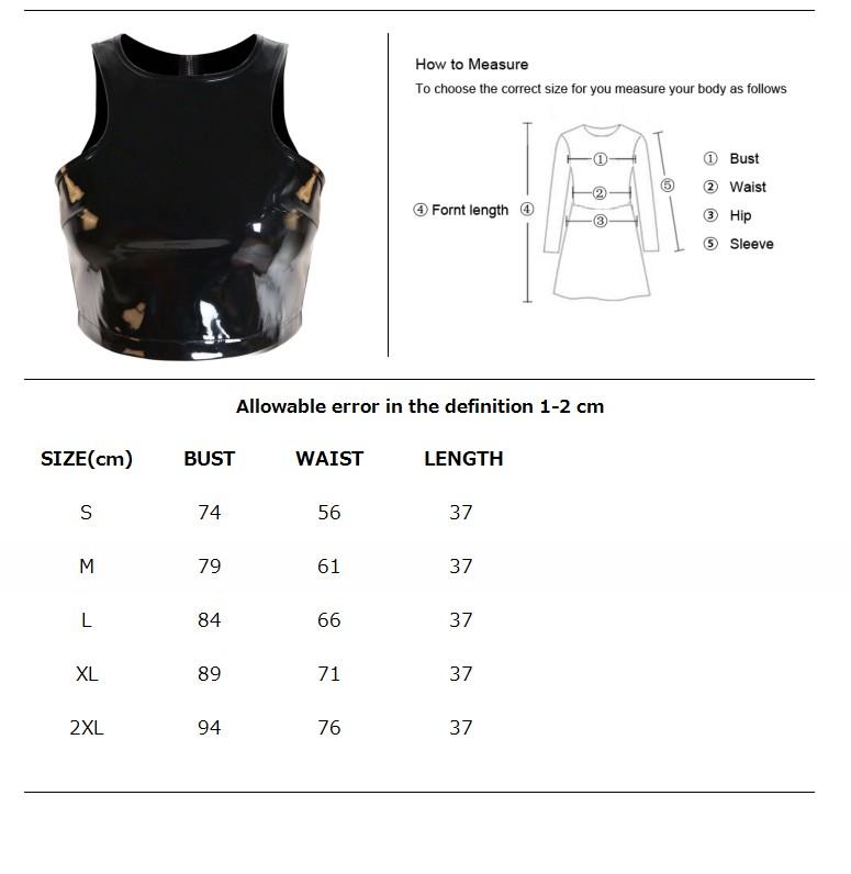 Женская сексуальная юбка в стиле стимпанк из ПВХ черный кожаный