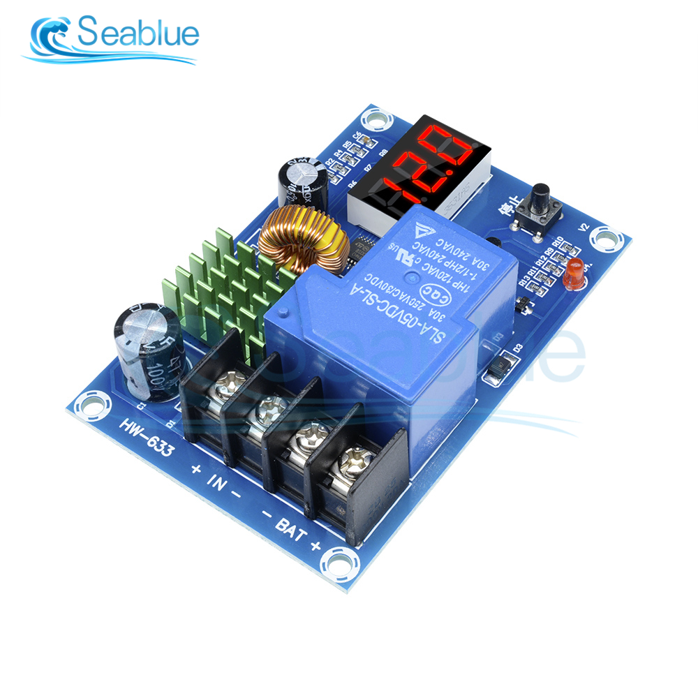 Tireless Xh-m604 Battery Charger Control Module Dc 6-60v Storage Lithium Battery Charging Control Switch Protection Board 12v 24v 48v Elegant In Smell