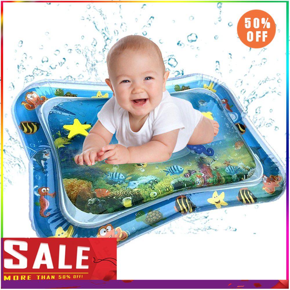 Детский водный игровой коврик, надувной детский животик, игровой коврик для малышей, Веселый игровой центр для улучшения движений рук и глаз