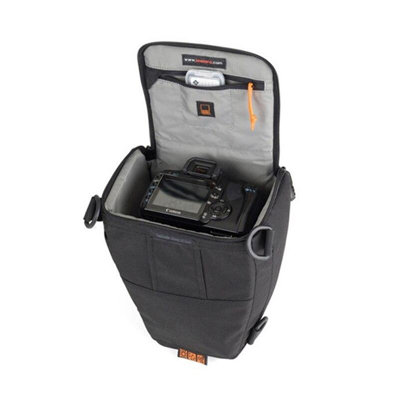 Image 2 - Быстрая доставка Lowepro Toploader Zoom 50 AW Высококачественная цифровая зеркальная камера сумка на плечо с водонепроницаемым чехлом-in Сумки для фото-/видеокамеры from Бытовая электроника
