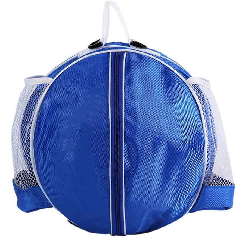 Forma redonda Saco de Bola De Basquete Vôlei Futebol Mochila Ajustável alça de Ombro Mochilas Sacos De Armazenamento Venda GMT601