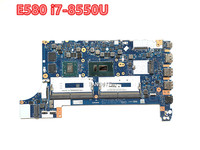 For Lenovo ThinkPad E580 mainboard I7-8550U 2GB DDR5 Notebook motherboard FRU 01LW920 EE480/EE580 NM-B421 100% working 1