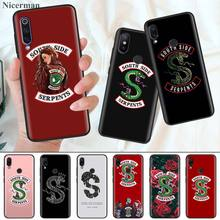 Silicone Case Coque for Xiaomi Mi 9T CC9 CC9E A1 A2 A3 8 Lite Play 5X 6X Poco  F1 Pocophone Riverdale South Side Serpen