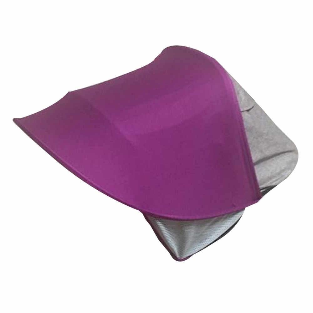 Cubierta de cochecito de tela Anti-UV parasol a prueba de viento para asiento de cochecito de bebé