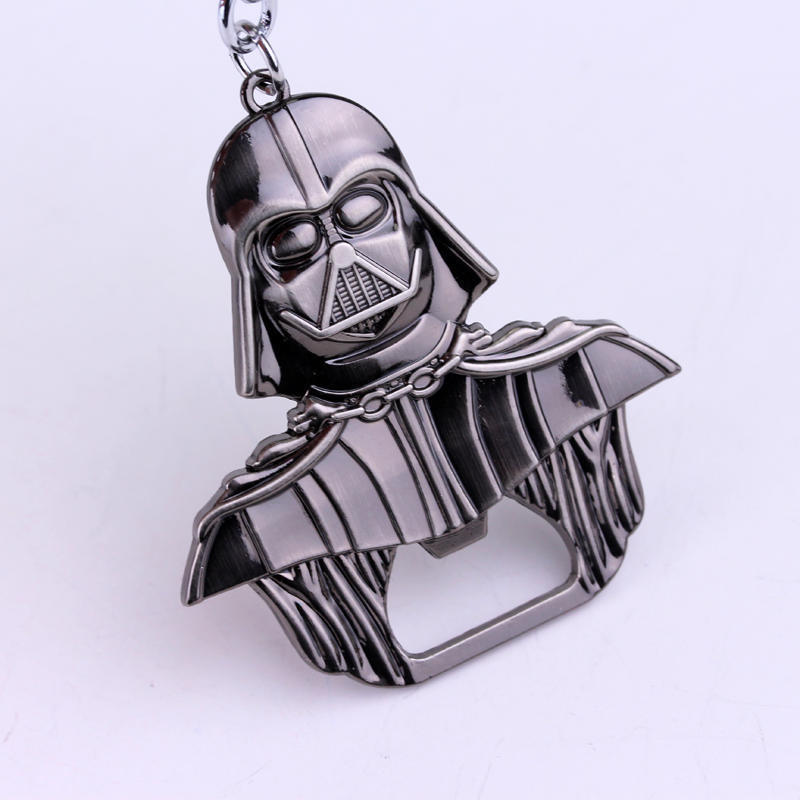Porable Star Wars Darth Vader Alloy Beer Opener Bottle Keychain Jewelry Toy Jar Wine Openers Kitchen Bar Gadgets Dining Tools