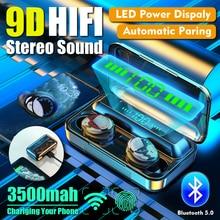 Cewwal F9-9 TWS Fingerprint Touch Bluetooth Earphones, HD Stereo Wireless Headphones,Noise Cancelling Gaming Headset недорого