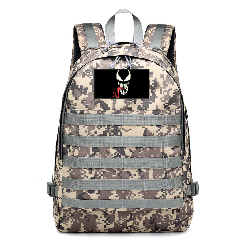 Venom Deadly Guardian Spider-Man Venom Related Products School Bag Backpack Campus High School Students Travel