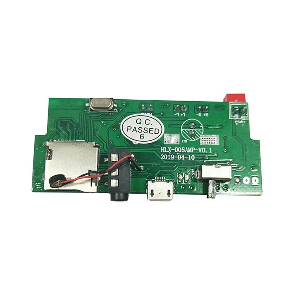 2x3 Вт Bluetooth MP3 FM 2,0 декодер плата автомобильное аудио Двойное декодирование Aux портативный многофункциональный с усилителем WAV модуль|Кабели, адаптеры и разъемы|   | АлиЭкспресс