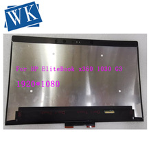 For HP EliteBook x360 1030 G3 led lcd screen touch digitizer panel assembly 1920