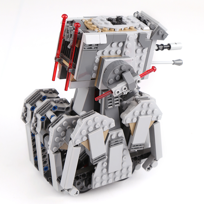 05126 Compatible with <font><b>75177</b></font> legoinglys Building blocks star wars Bricks First Order Heavy Scout Walker figures toys for children image