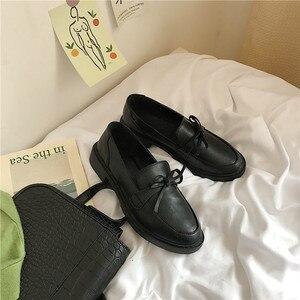 Slip on Black Oxford Shoes for