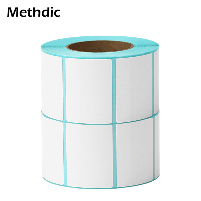 Methdic 5rolls/lot 40x30mm Sticker Personalized Address Labels For Supermaket Label
