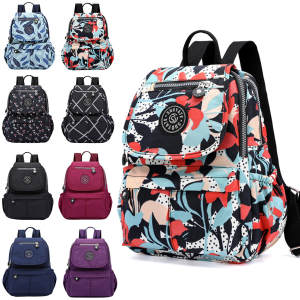 Waterproof Backpack Mochila Multifunction School-Girl Women Feminina Nylon -T1g Escolar