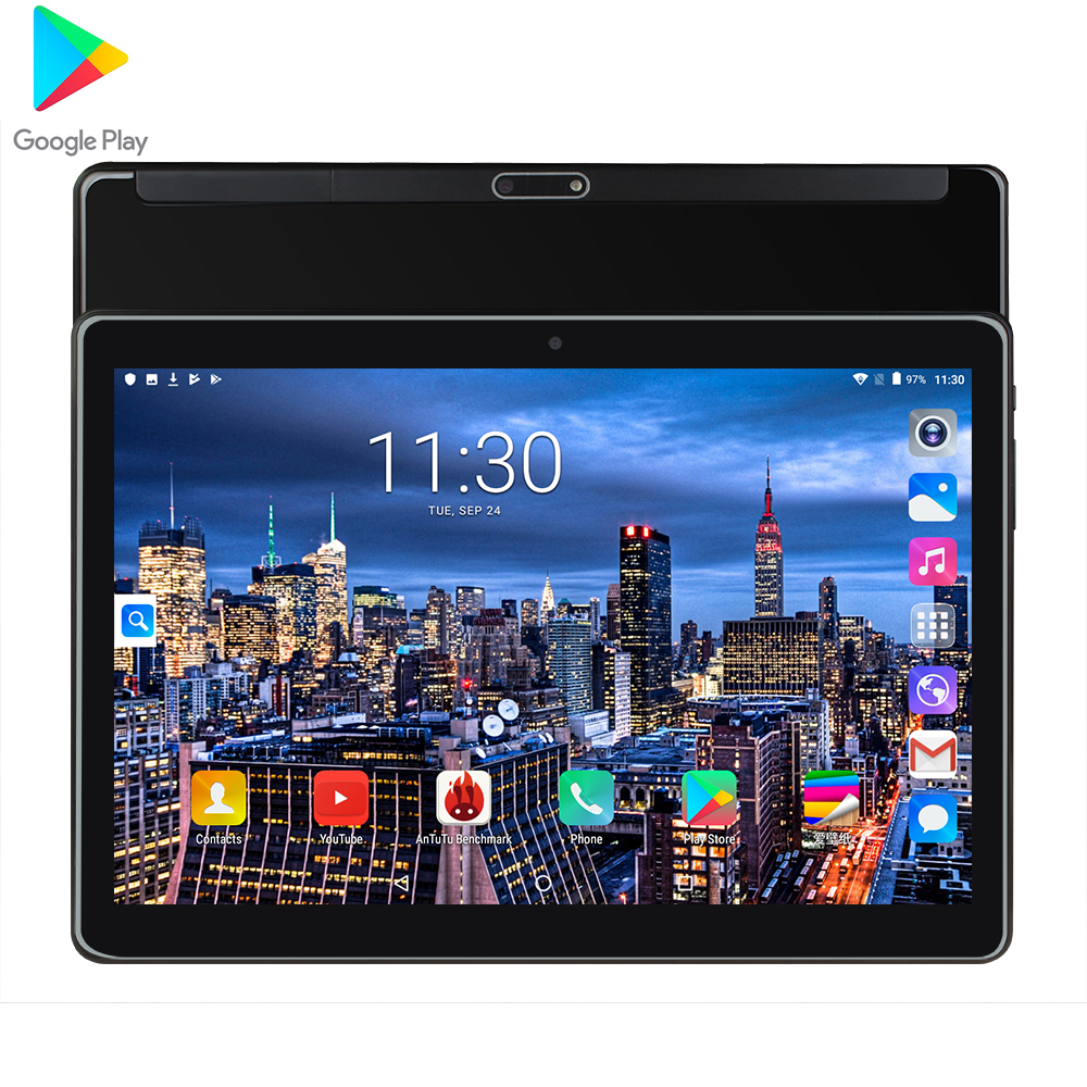 10inch Tablet Wifi Rom 32gb Ram 1.5gb Dual-Sim Quad Core Android 7.0 GPS 1.5GB PC 3G Dual Card Dual Standby Call 1280x800