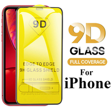 Buy Felkin 9D Tempered Protective Glass for iPhone 11 Pro Max XR X XS Max 7 8 6 Plus 5 Screen Protector on iPhone 11 Pro Max XR X XS directly from merchant!