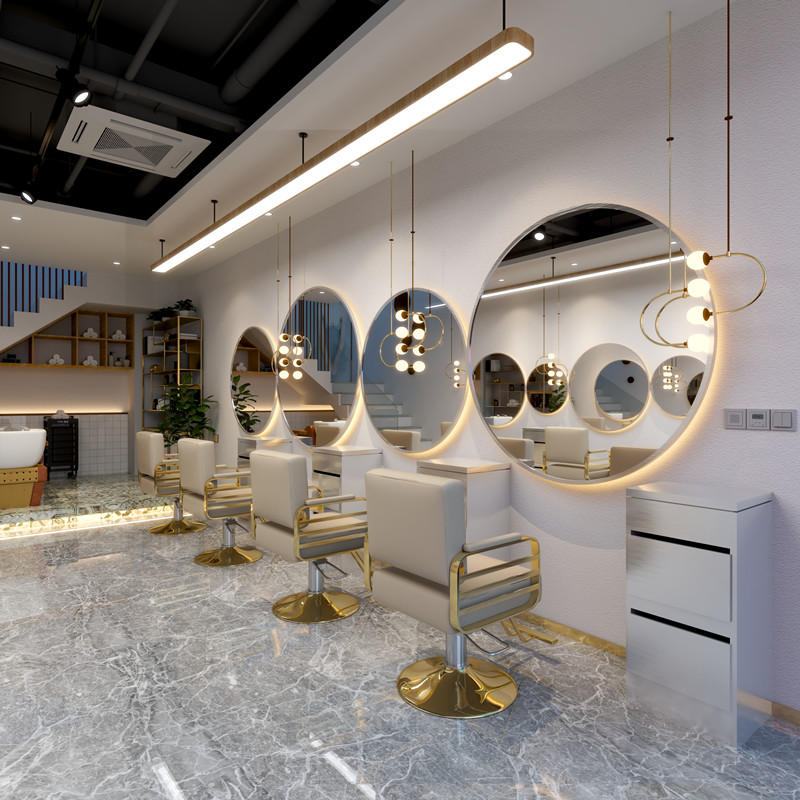 1pc grande tamanho salão de beleza espelho