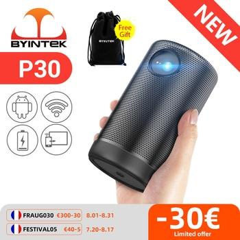 BYINTEK P30 Pocket Portable Smart Android WIFI Full HD 1080p TV Video LED DLP Mini Projector for 4K Cinema Smartphone 1