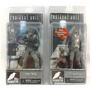Image 2 - Figuras de acción de PVC de 2 juegos para niños y adultos, modelo de película de Anime, perro zombi Hunk, regalo de colección