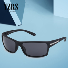 YZRS Brand Retro Sunglasses Men Goggles Poalrized Driver UV400 Sport Fashion Outdoor Sun Glasses Plastic Eyewear