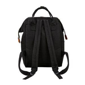 Image 2 - Mickey Minnie Frauen Rucksack Casual Reisetasche für Jugendliche Schule Tasche Große Kapazität Weibliche Schultern Taschen Mode BAG0006