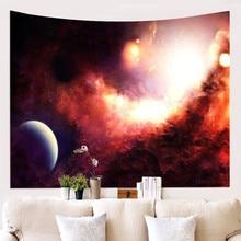 Universe Planet Tapestry Phychedelic Wall Hanging Star Sky Blanket Home Dorm Decor Carpet Wall 1ps bohemia mandala blankets tapestry elephant wall hanging wandbehang gobelin blanket dorm home decor mantas mandalas