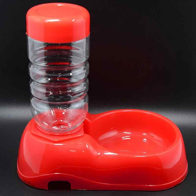 22*10*5 cm 350ml פלסטיק לחיות מחמד כלב כלבלב חתול אוטומטי מים Dispenser מזון קערת תבשיל מזין מזון ומים ספקי
