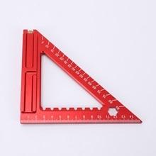 Carpenter Woodworking Triangle Square Tool Folding Measuring Frame Ruler C90C