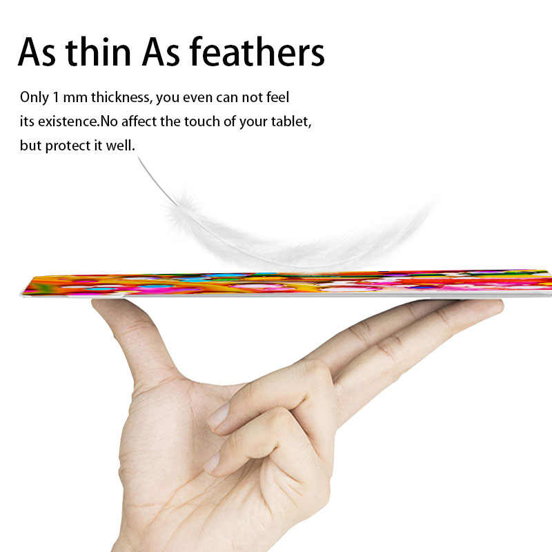 Warna-warni Tablet Cover untuk Huawei Media Pad Media Pad T3 7.0 3G Versi BG2-U01 7 Inch Ultra Thin Silikon Lembut custom Diy Kasus