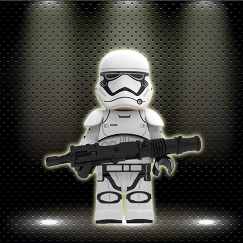 First Order Stormtrooper Ed New Starwars Imperial Army Shock Trooper Figure Building Blocks Gured Child Toy Gift XP267