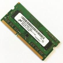 Micron DDR3 4GB CARNEIROS 4GB 1RX8 PC3L-12800S DDR3 4GB de MEMÓRIA PORTÁTIL 1600MHz