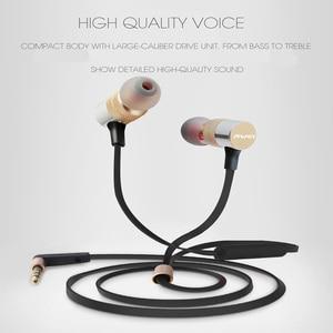 Image 2 - Awei ES 20TY Isolamento de Ruído de Ouvido de Baixo Pesadas com Microfone Fones De Ouvido Handsfree Fone de Ouvido com 1.2m de linha de fone de Ouvido Universal