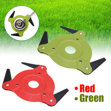 1pc Alloy Grass Cutter Blade 3 Tooth Electric Garden Tool Accessories Trimmer Strimmer Head Lawn Mower