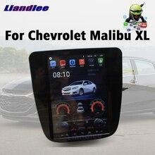 Araç DVD oynatıcı multimedya oynatıcı için Chevrolet Chevy Malibu XL 2015 ~ 2020 Android radyo Stereo GPS Navi Wifi navigasyon ekran sistemi