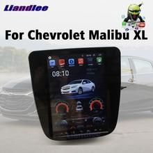 เครื่องเล่นดีวีดีรถยนต์มัลติมีเดียสำหรับChevrolet Chevy Malibu XL 2015 ~ 2020 AndroidวิทยุสเตอริโอGPS Navi Wifiหน้าจอระบบ