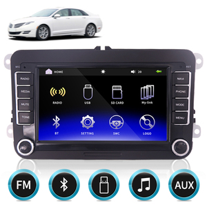 2 Din Android Radio GPS 2din Car Multimedia Player Autoradio For VW/Volkswagen/Golf/Passat/SEAT/Skoda/Polo car Stereo