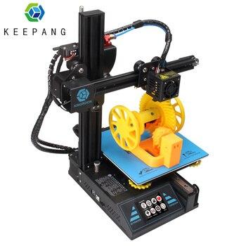 3D Printer 3d printing KP3 impresora 3d Upgraded High Precision Magnetic Plate Resume Printing DIY Kit 180x180x180mm Desktop