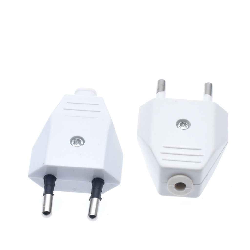 نوع جديد الألمانية نوع الأوروبي القياسية الطاقة 2 دبوس المقابس كابلات الشبكة 2.5A 220 فولت الاتصال الكهربائية