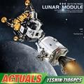 Пресс-форма для KING 21006 игрушки совместимая с MOC-26457 Аполлос космический корабль конструкторных блоков, Детские кубики в сборе Наборы детские ...