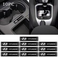 4/10 шт. эпоксидная 3D знак, наклейка на автомобиль автомобильные эмблемы наклейки украшения для Hyundai i10 i30 i20 Sonata Accent Tucson Elantra автомобильные аксе...